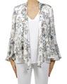 floral aleah kimono white A col chg