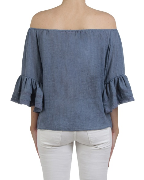 Fortuna top denim  back