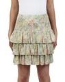 Sicily Posie Skirt yellow