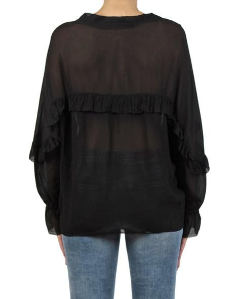 Raina top black back