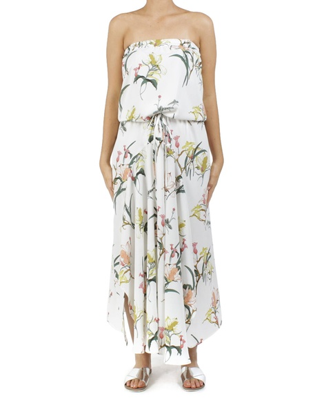 floral loveland dress vanilla A