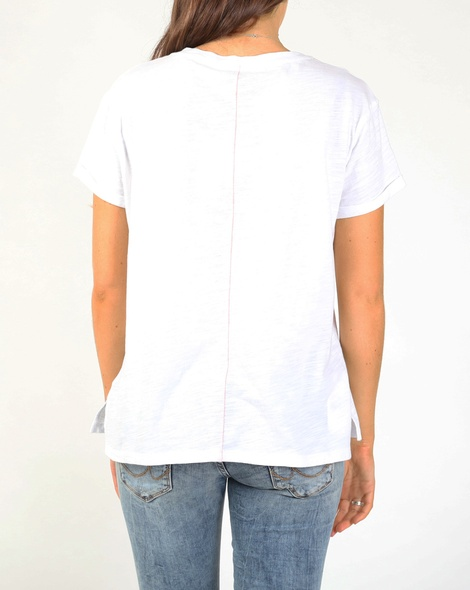 New york tee white B