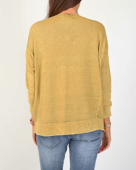 boyfriend sweater mustard B