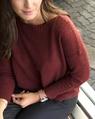 Boat neck knit brick (17)