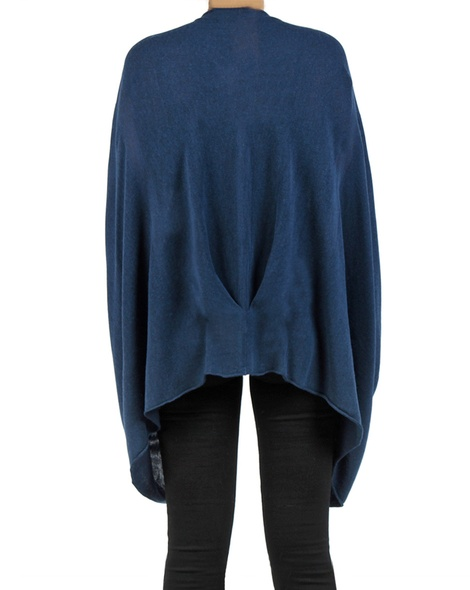 Snuggle cape navy back copy