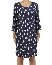 Abstract Spot Dress