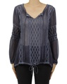 Frankie top navy A