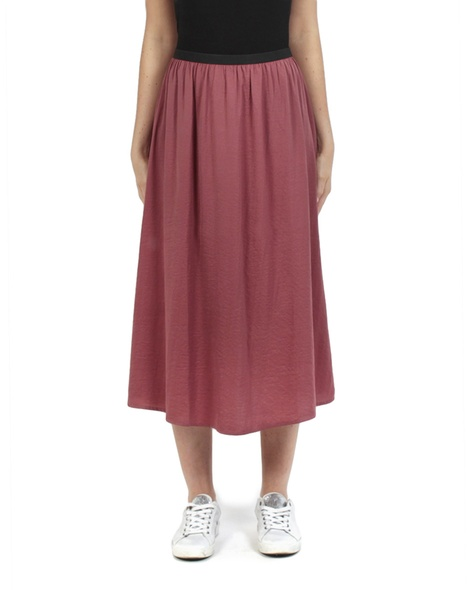 Miri midi skirt earth front copy