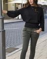Chelsea knit Laurel bUTTON JEAN (25)