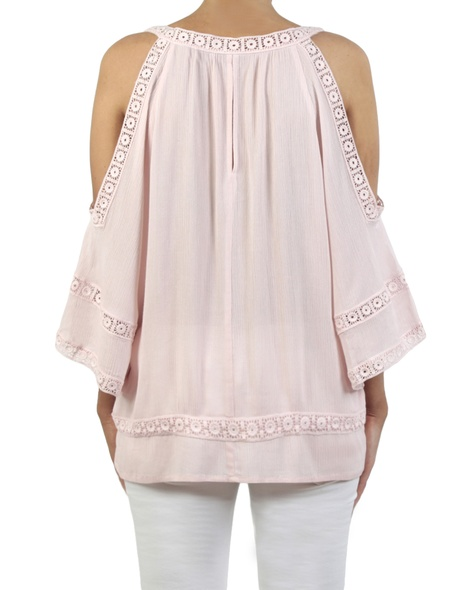 Misha top blush back