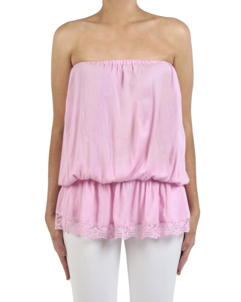 Bijoux top pink front long copy