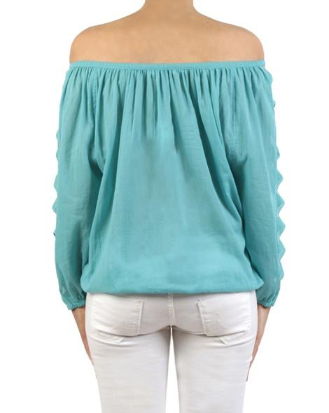 Margarita top turquoise back copy