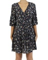 Isabel wrap Dress navy A copy