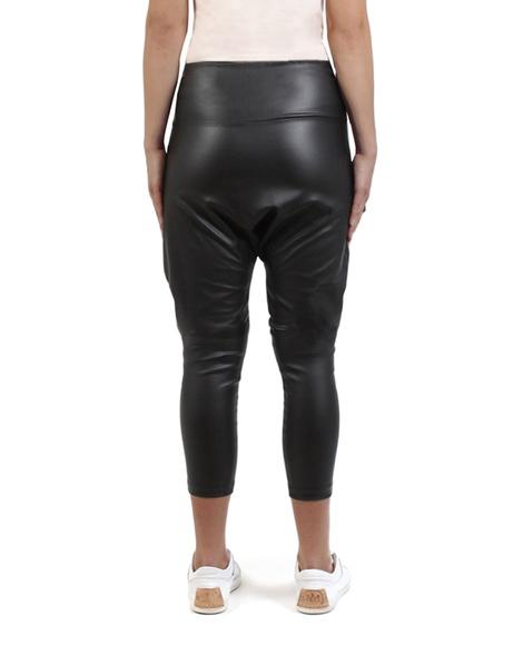 Wax milano pant black back