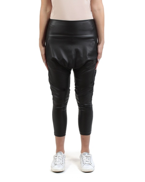 Wax milano pant black front