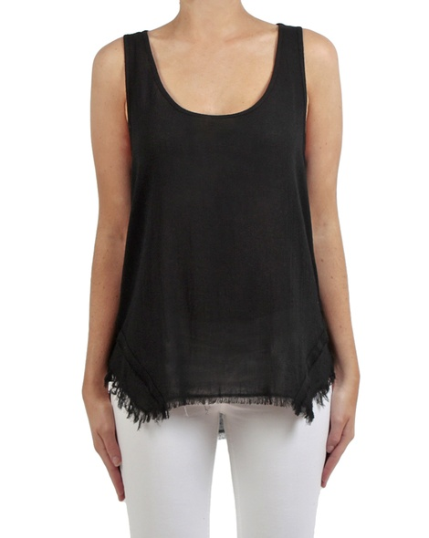 Sienna top black front