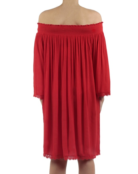 Majorca dress red back copy