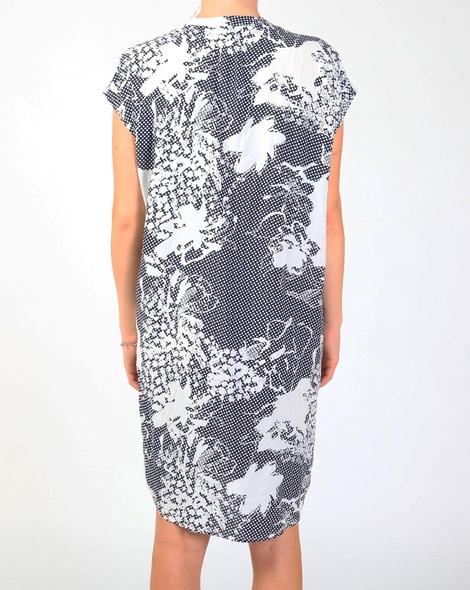 Polaris dress navy B