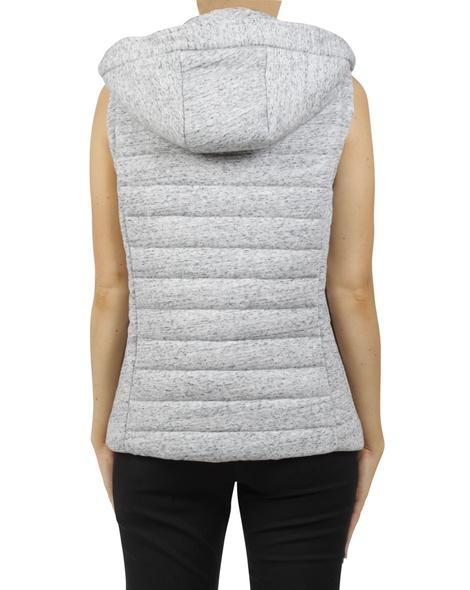 Snow puffer vest B