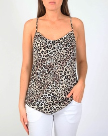 Leopard Cowl Cami