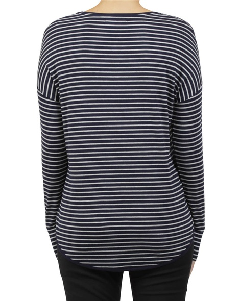 extended shoulder stripe navy B