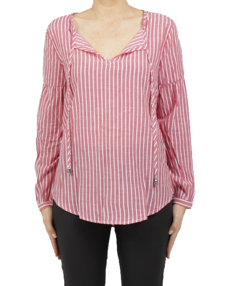 Pimms blouse red A