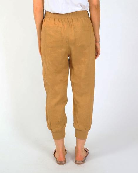 Thea jogger pant camel B