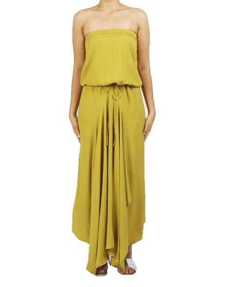 loveland dress mustard A