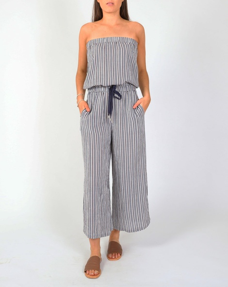 Stripey kirby jumpsuit A