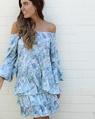 Sicily Posie Skirt + flamenco top blue (17)