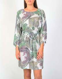 Paisley Lotus Dress