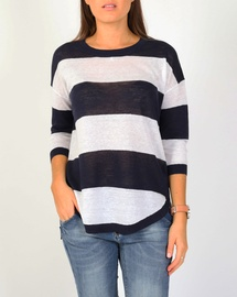 Wide Stripe Pullover