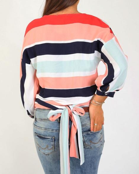 stripey maura top B