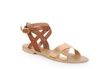 ELMA - Flat Cross Strap Sandal