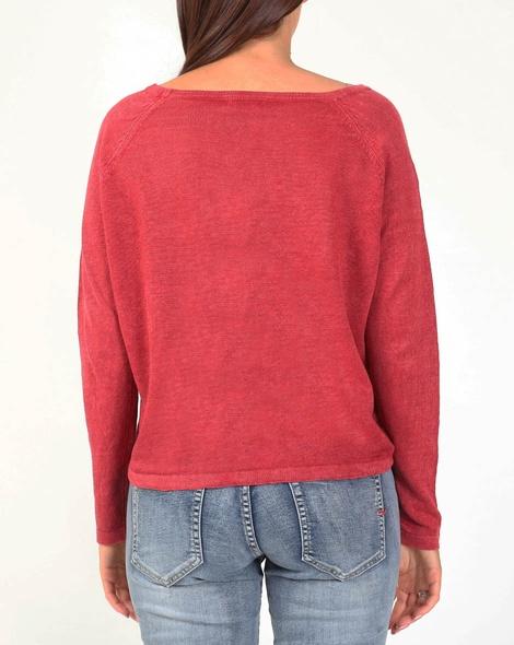 Lenora knit red B