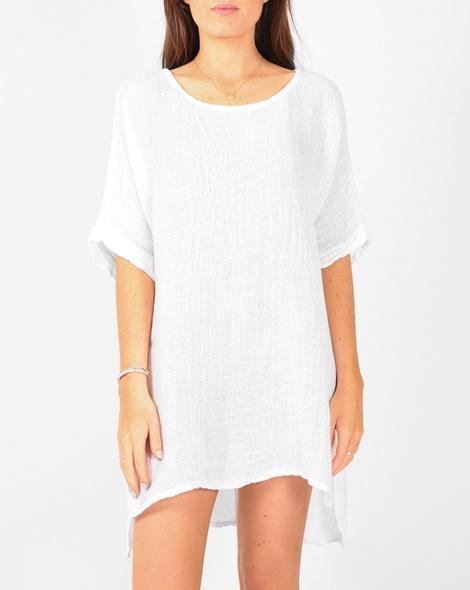 Sahara tunic white A
