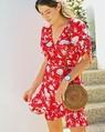 Jacinta dress red 1