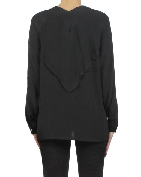 Gwyneth shirt black back