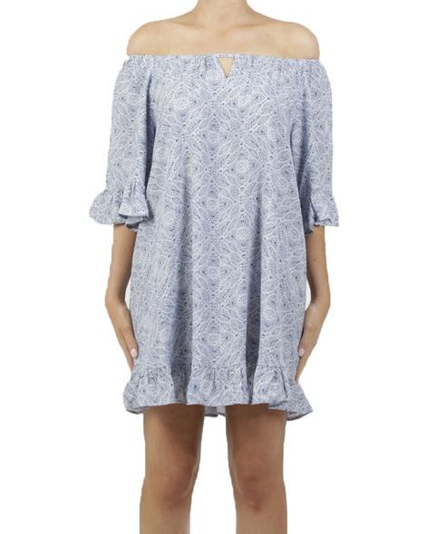 Palma Dress Blue A