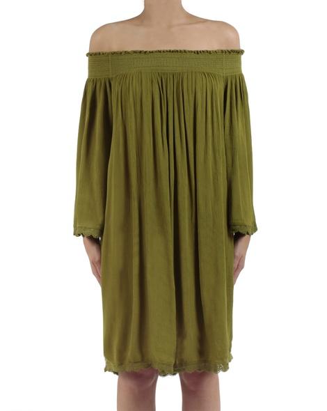 Majorca dress moss front copy