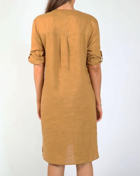 Brielle dress camel B