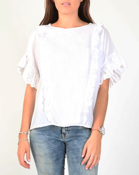 Arabella top white A new